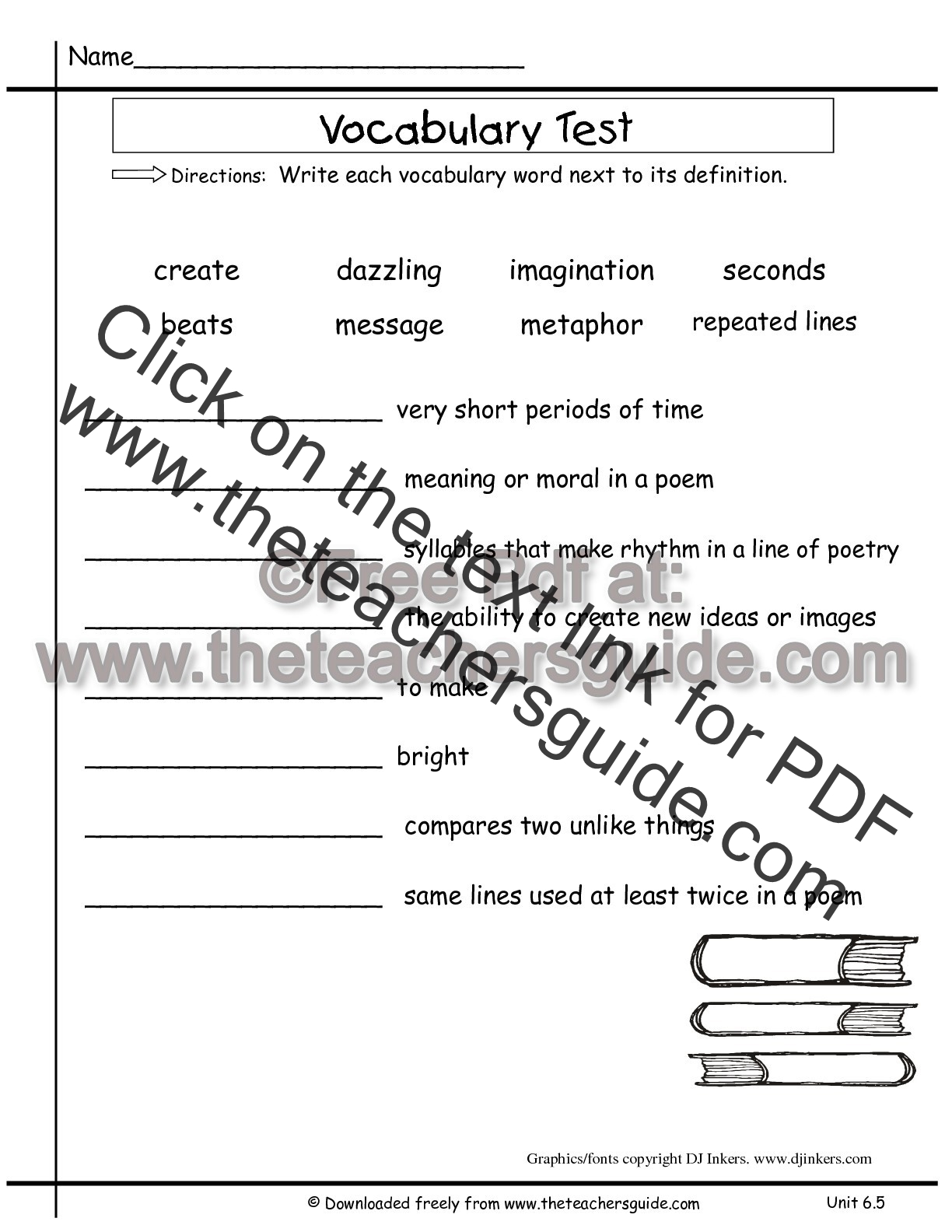 Second Grade Vocabulary Test Practice Worksheet Word Meaning Second Best Free Printable Worksheets