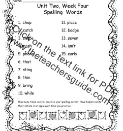 Wonders Second Grade Unit Two Week Four Printouts [ 1584 x 1224 Pixel ]