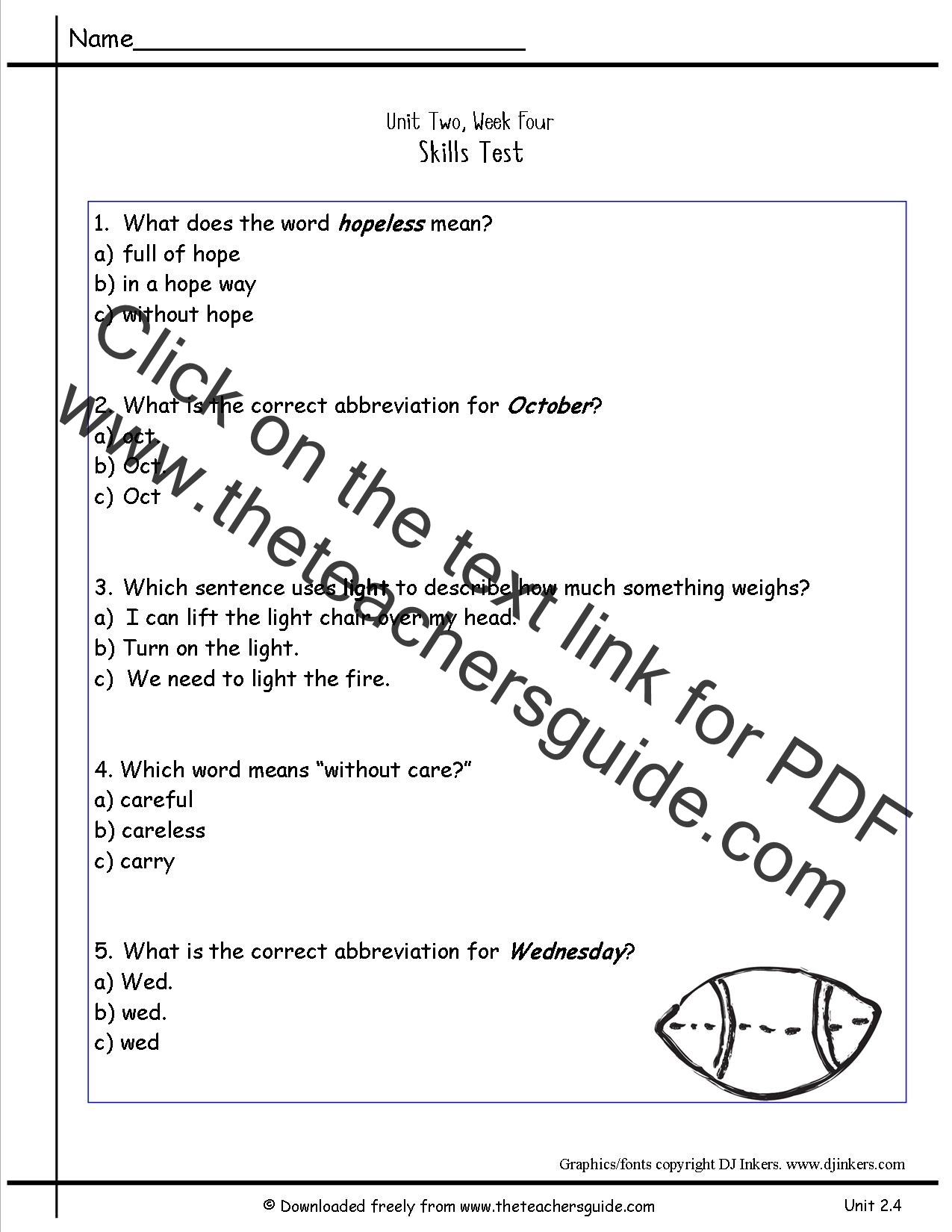 Multiple Meaning Words Worksheets 4th Grade