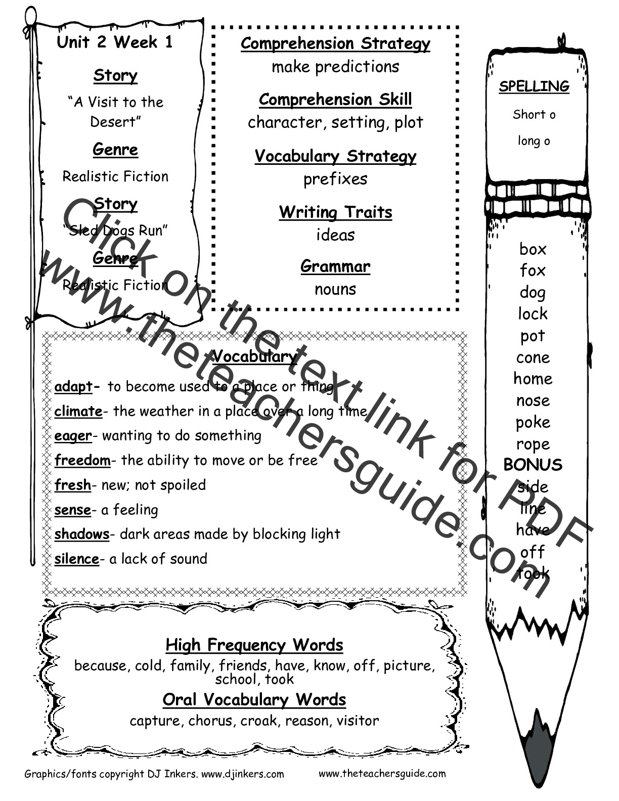 hight resolution of McGraw-Hill Wonders Second Grade Resources and Printouts