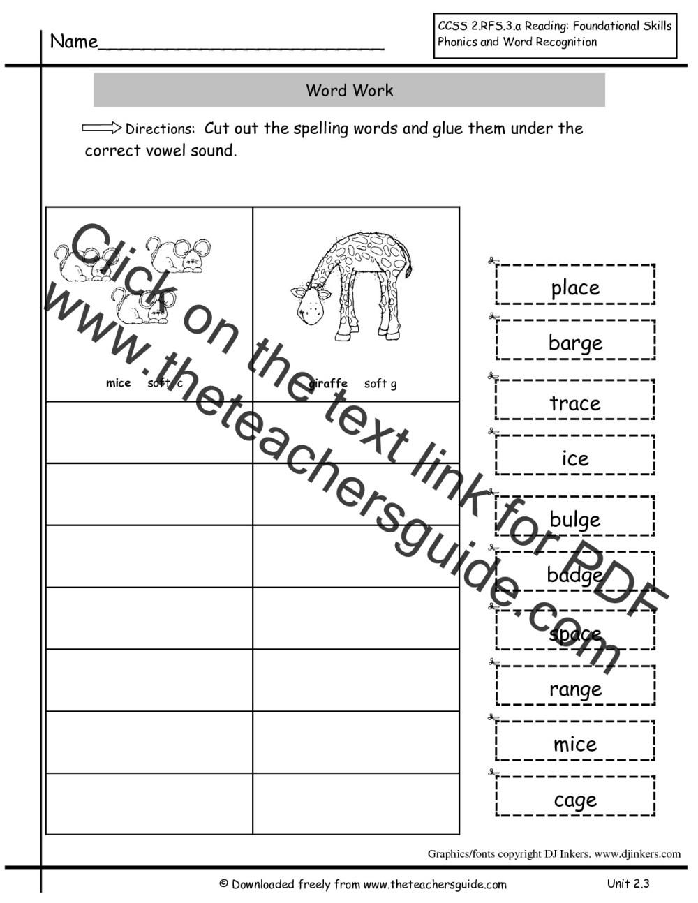 medium resolution of Wonders Second Grade Unit Two Week Three Printouts