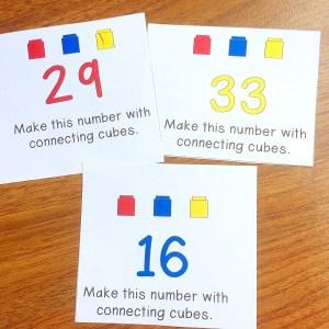 connect the cubes math center