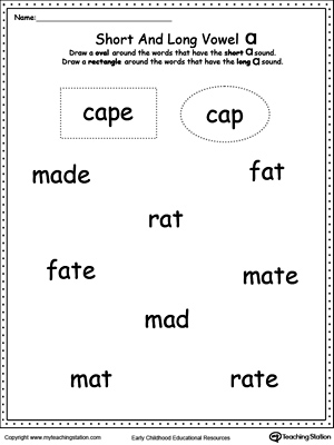 Short Vowel Review. Write Missing Vowel