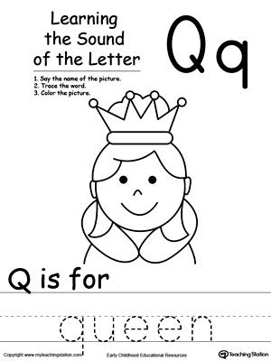 All Worksheets » Letter Q Worksheets For Preschool