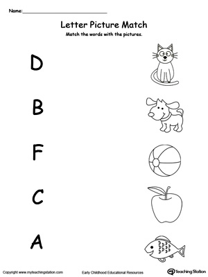 Recognize Uppercase and Lowercase Letter D
