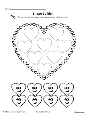 Geometric Shape Builder Worksheet: Rectangle