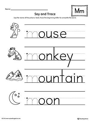 Free preschool worksheets letter m poemdocor free worksheets letter m for preschool ibookread Read Online