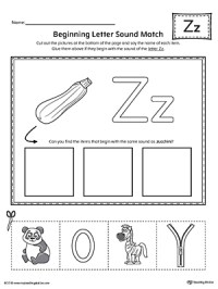 Snow Guides  letter sound matching worksheets. identity