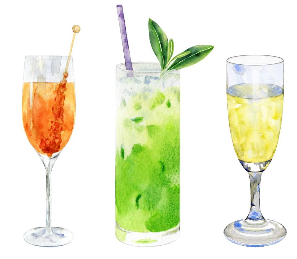 St Patrick's Day Tea Cocktails