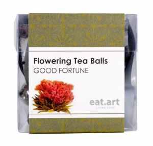 Eat Art Flowering Tea Ball Good Fortune