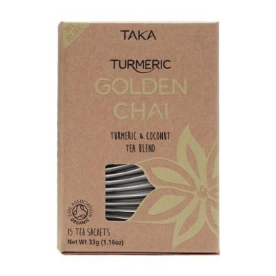 Taka Turmeric Tea Golden Chai Front