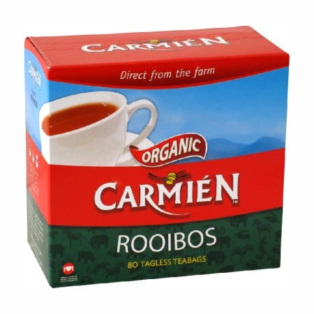 Carmien natural rooibos 80 tagless teabags