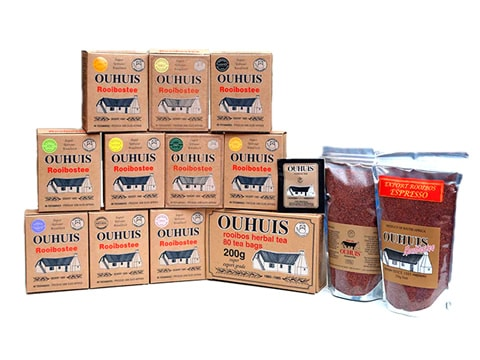 OuHuis Rooibos products