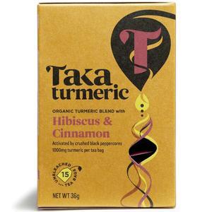Taka Turmeric Tea Hibiscus Cinnamon