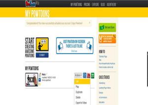 Create Online Animated Presentations