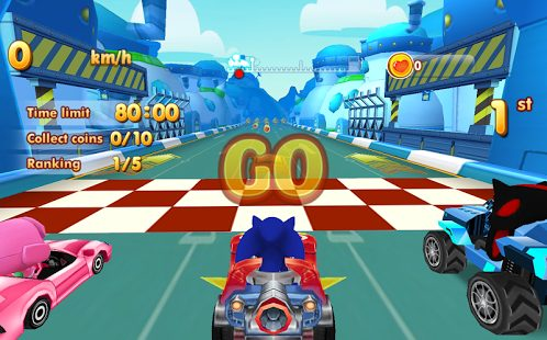 Sonic car games free download