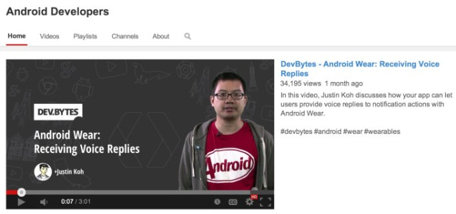 Android-Developers-YouTube
