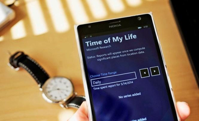 Time of My Life app for Windows Phone