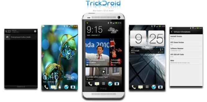 TrickDroid custom ROM