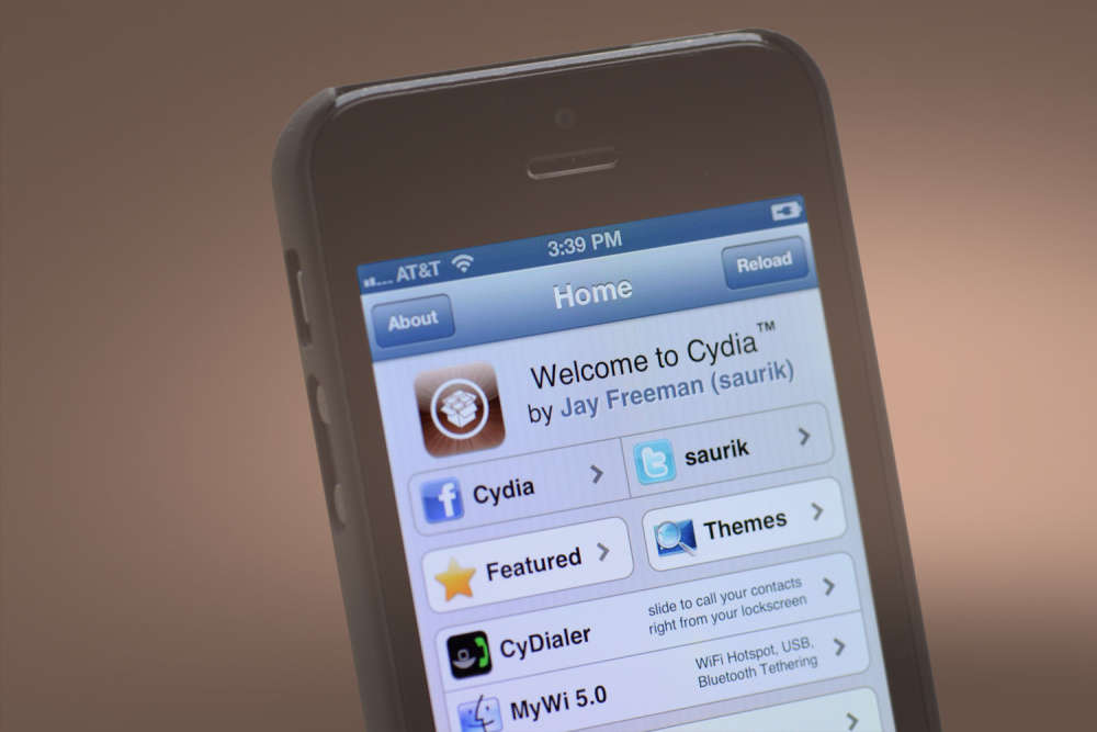 iPhone Cydia tweak