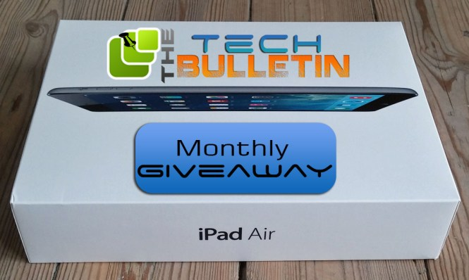 The Tech Bulletin monthly international giveaway