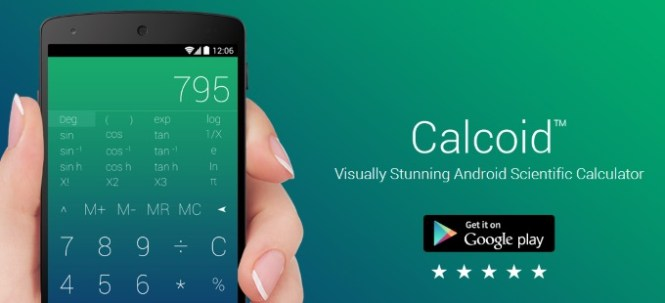Calcoid_android_app