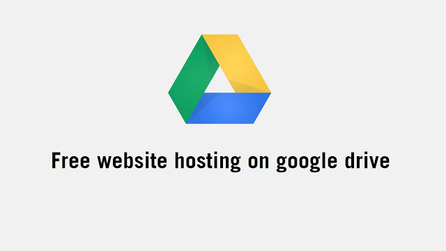 Website-hosting_google-drive