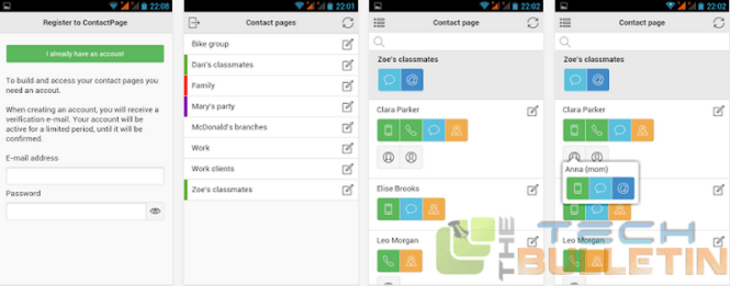 ContactsPage-Android