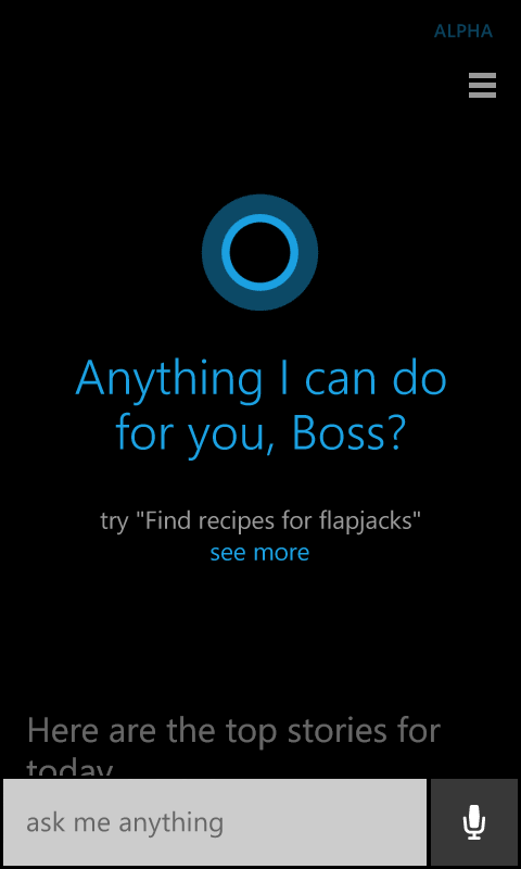 cortana alpha variant