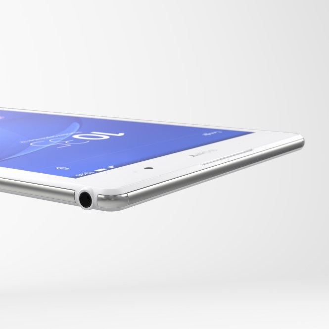 Sony Xperia Z3 tablet compact Design