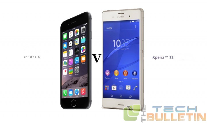 iphone for android apple iphone 6 plus vs sony xperia z3 detail comparison 11862