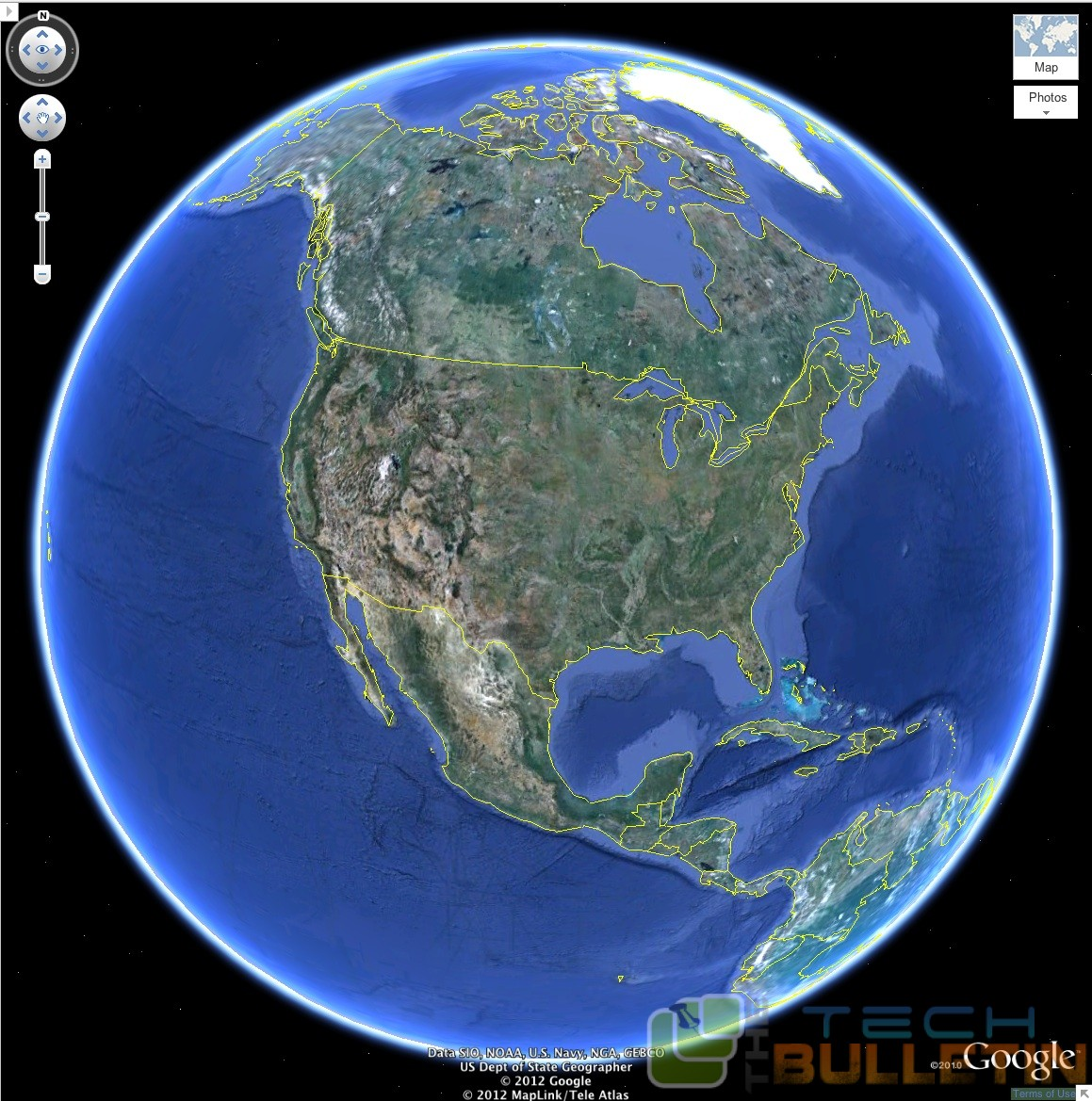 Google Introduced Earth View For Chrome The Tech Bulletin - Google maps earth view