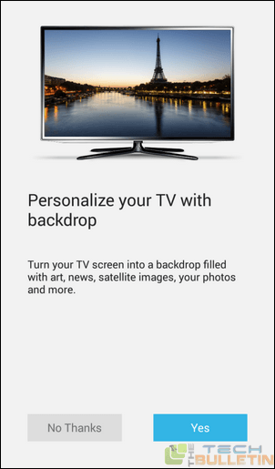 configure tv via chromecast