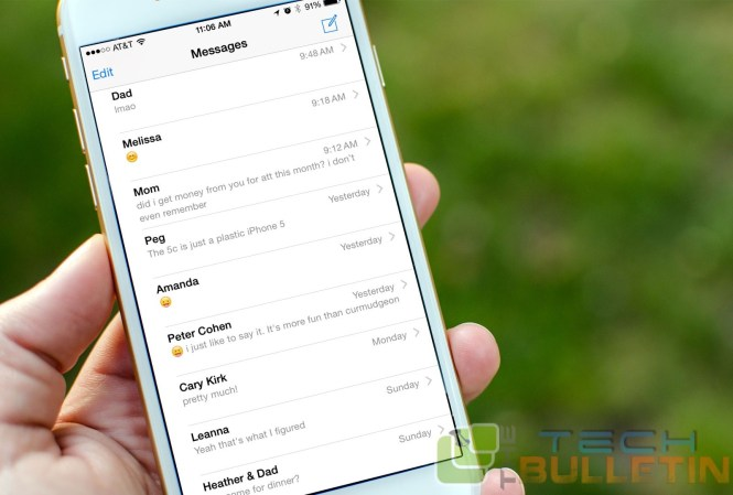 how to delete all messages of an iphone through laptop