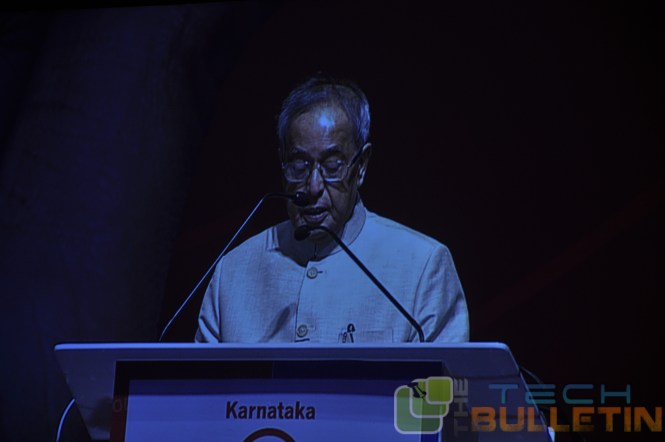 Pranab Mukharjee, president of India at MobileOne launch