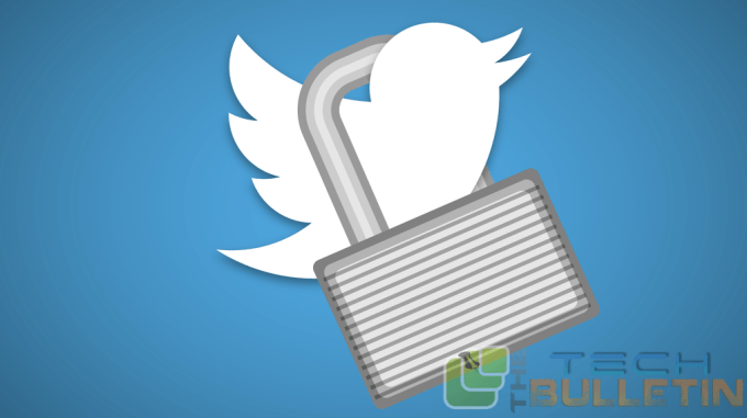 Twitter locks account