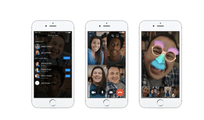 Facebook Messenger video chat gets new features