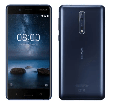 Nokia 8 leaked live images reveal copper colour, dual-camera setup