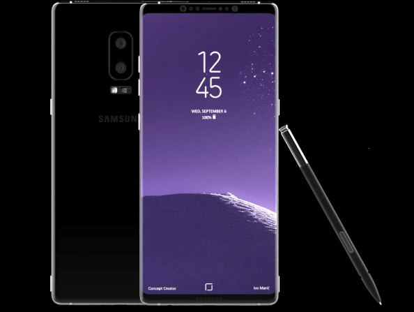 Alleged Samsung Galaxy Note 8 case spotted online