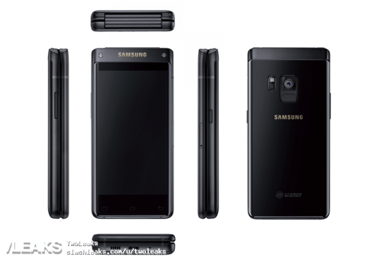 New Samsung Flip Phone Press Renders Leaked