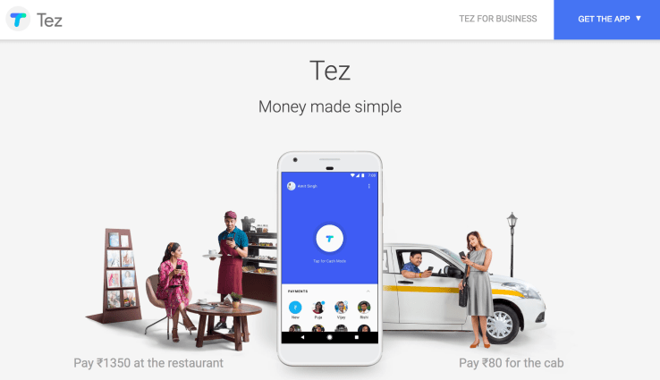 Google to launch 'Tez' mobile wallet in India