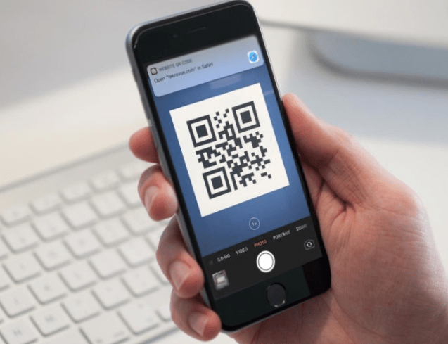 iphone qr reader how to use the qr code reader feature on ios 11 iphone 7 4721