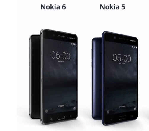 Nokia 5, Nokia 6 to follow