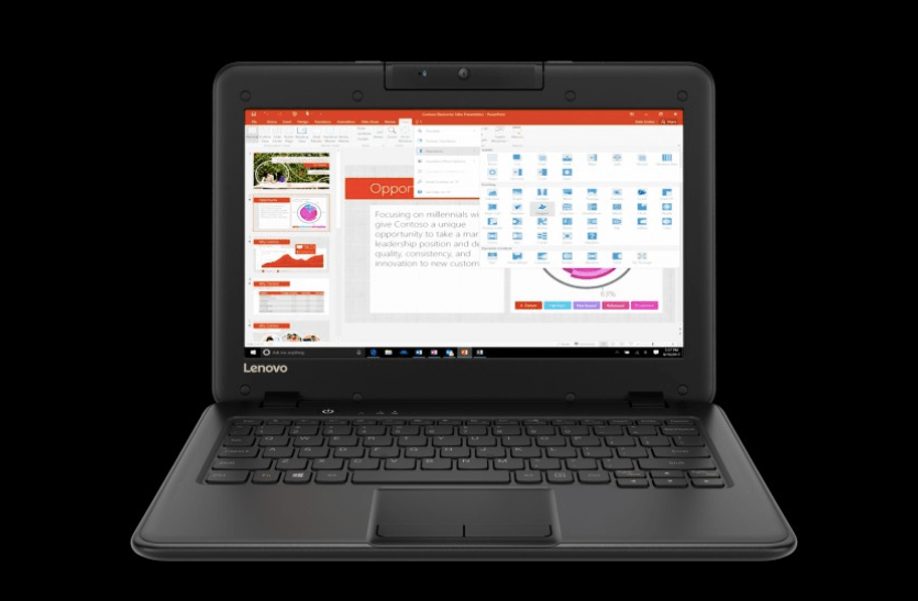 Microsoft partners with Lenovo for cheap school laptops