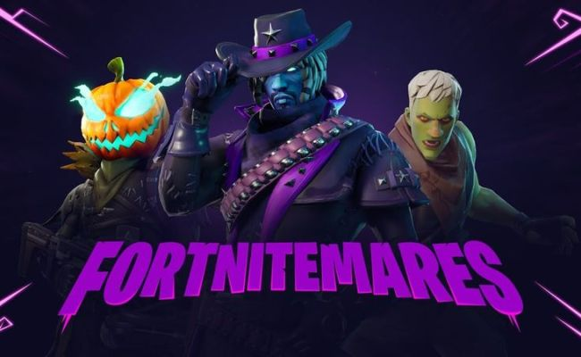 Fortnite S Halloween Update Fortnitemares Is Out Today