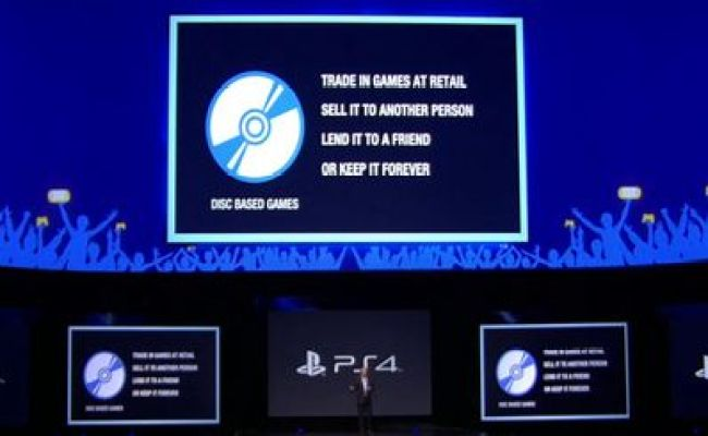 E3 2013 Ps4 Supports Used Games Don T Require Online