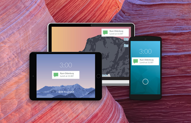 get android notifications on PC