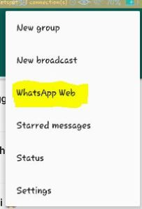 whatsapp web whatsapp on pc