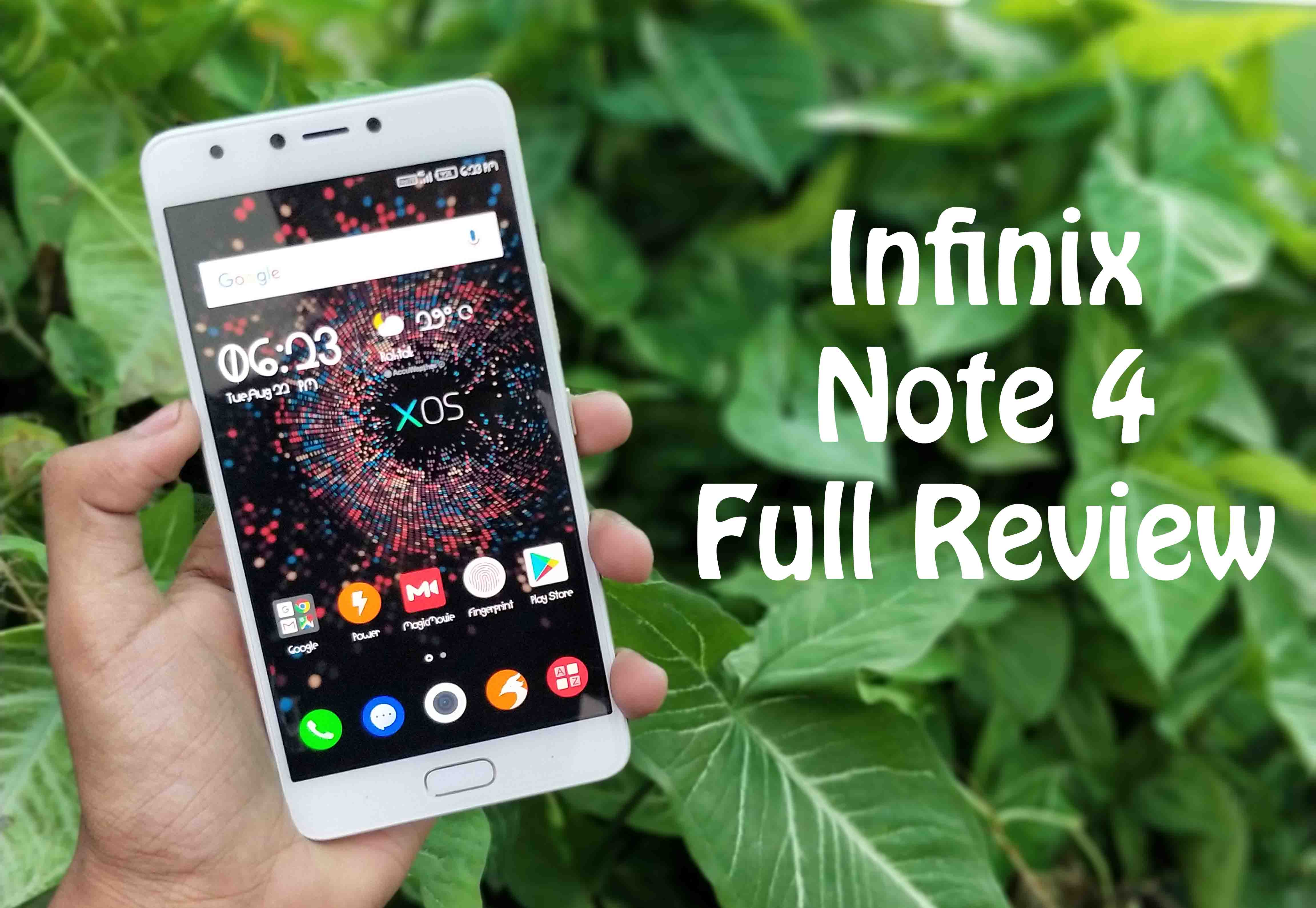 Infinix Note 4Specifications, Price, and Features