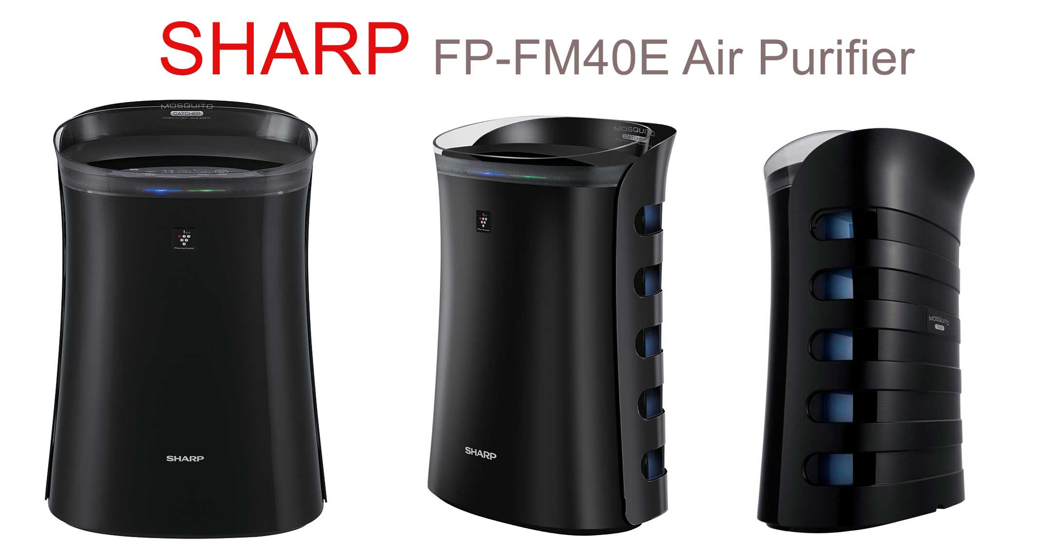 Sharp launched World's first Air Purifier with mosquito catcher